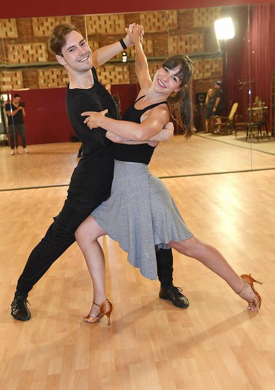 Veronika s Dominikem trénuje čtyři hodiny denně.