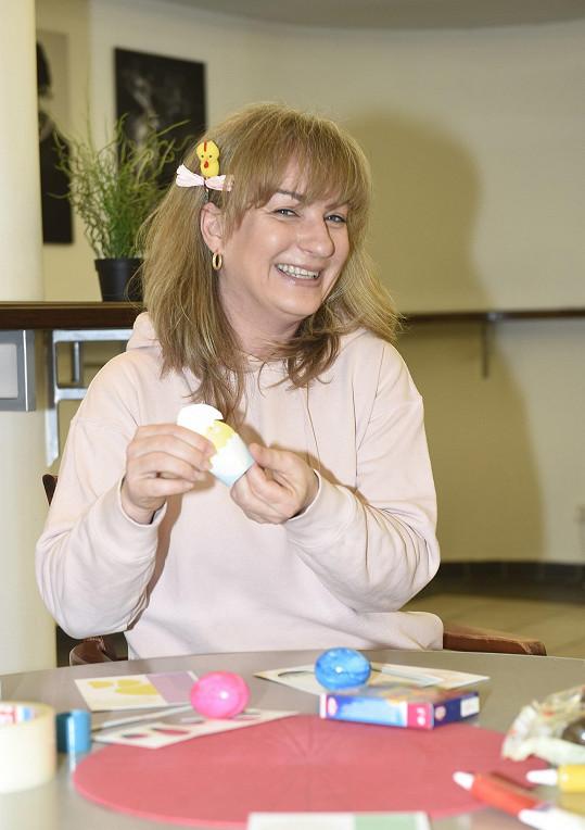 Velikonoce herečka prý příliš neřeší.