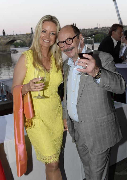 Jadran Šetlík s manželkou
