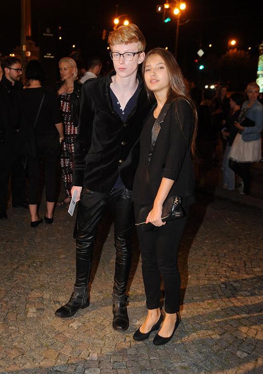 Adam Mišík a Sara Sandeva jsou krásný pár.