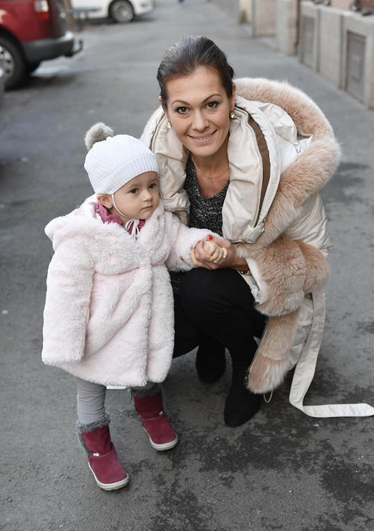 Jana s dceru Veronikou