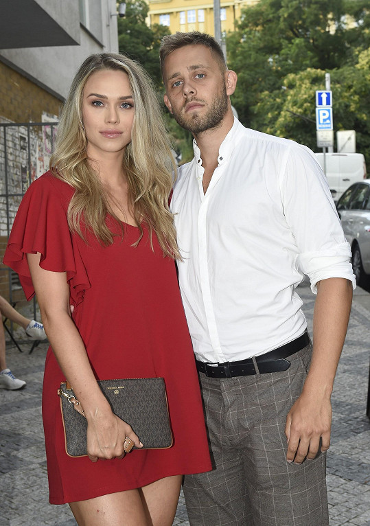 Vincent Navrátil s přítelkyní Anetou