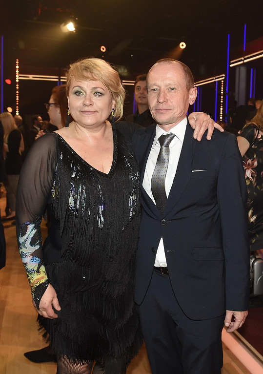 Pavlu přišel podpořit manžel Ondřej Malý.