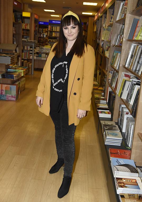 Ewa se stala kmotrou nové knihy.