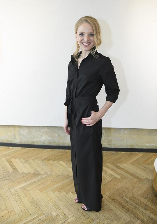 Anna Marešová představila kolekci šperků.