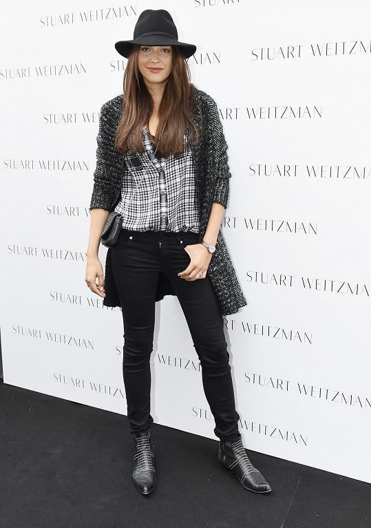 Akce účastnila i další modelka Kateřina Sokolová.