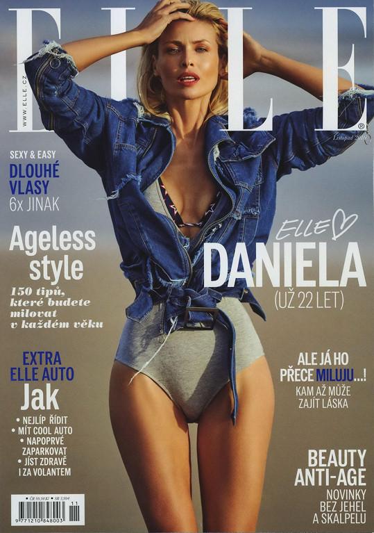 Několikrát byla na titulce české Elle.