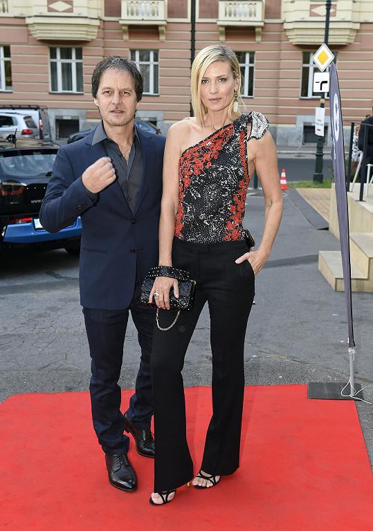 Daniela Peštová s Pavolem Haberou