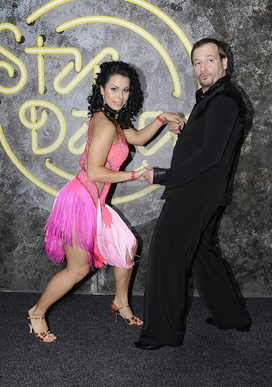 Marek s taneční partnerkou Martinou dostali nejméně hlasů od diváků a vypadli.