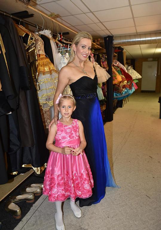 Tereza Mátlová s dcerkou Emily