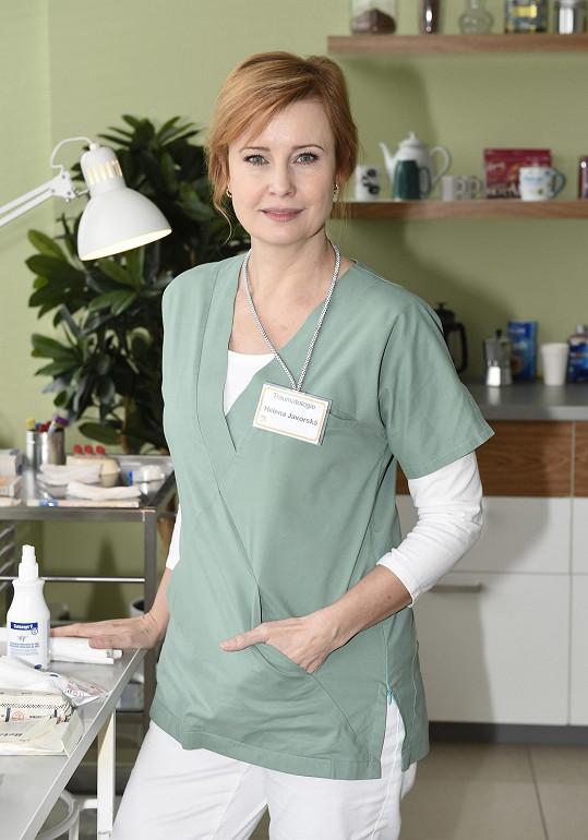 Jako zdravotní sestra v Anatomii života