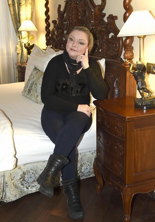 Dominika doufá, že se maminka s nemocí zvládne poprat.