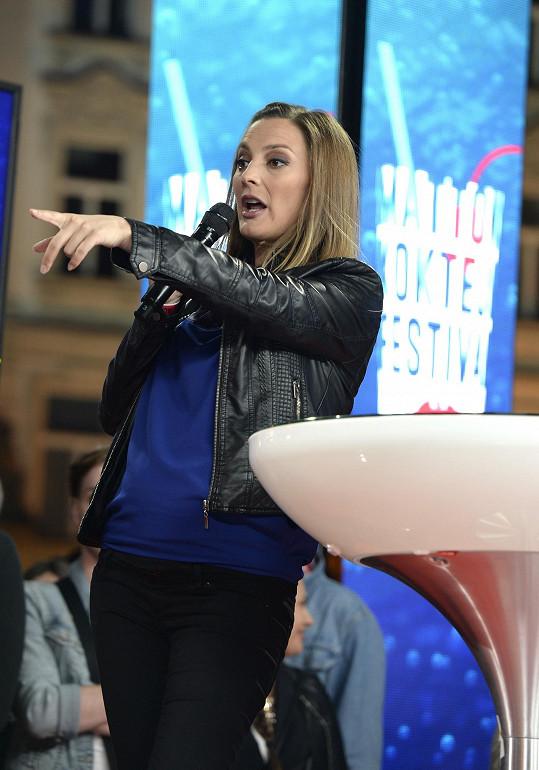 Bára Poláková čeká dítě s kolegou Pavlem Liškou.