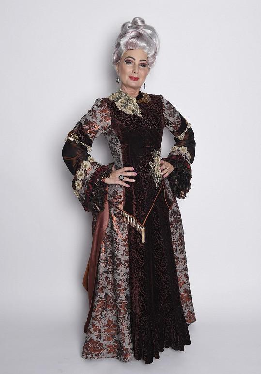Takhle bude jako Madam Morrible vypadat.