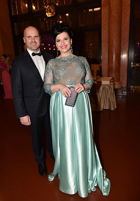 Andrea s manželem Radkem Töglem