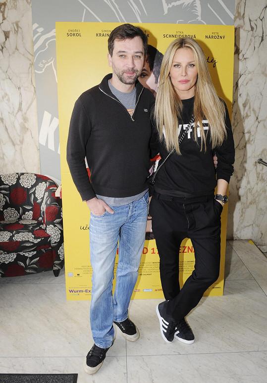 Simona s Ondřejem Sokolem