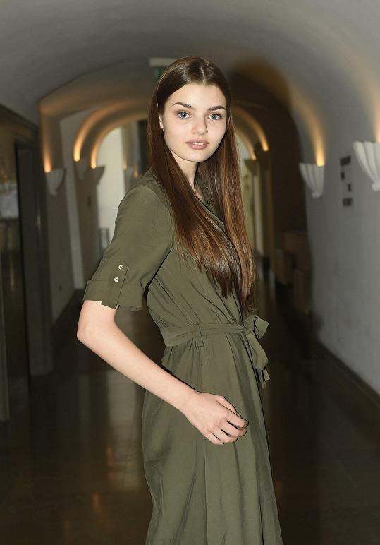 Anna Brodecká je úspěšnou modelkou.