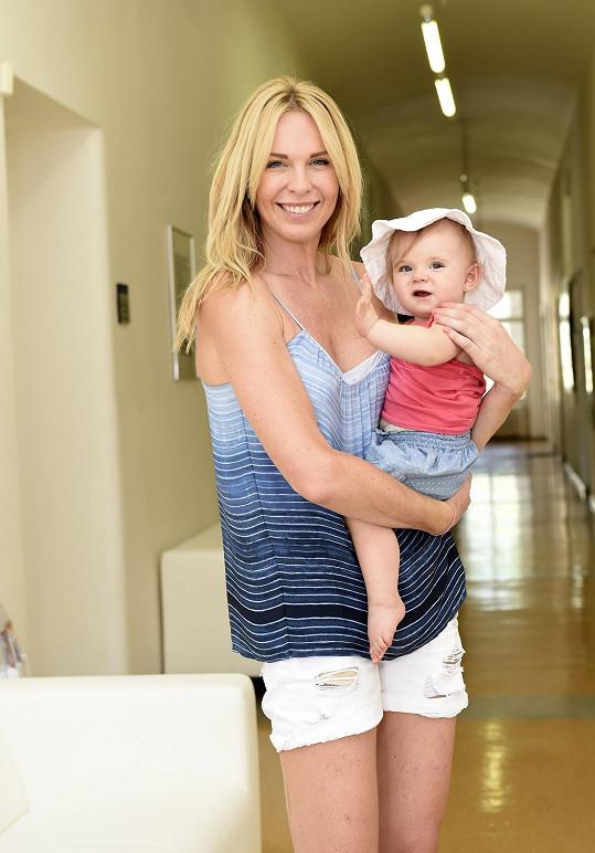 Diana se svou dcerou