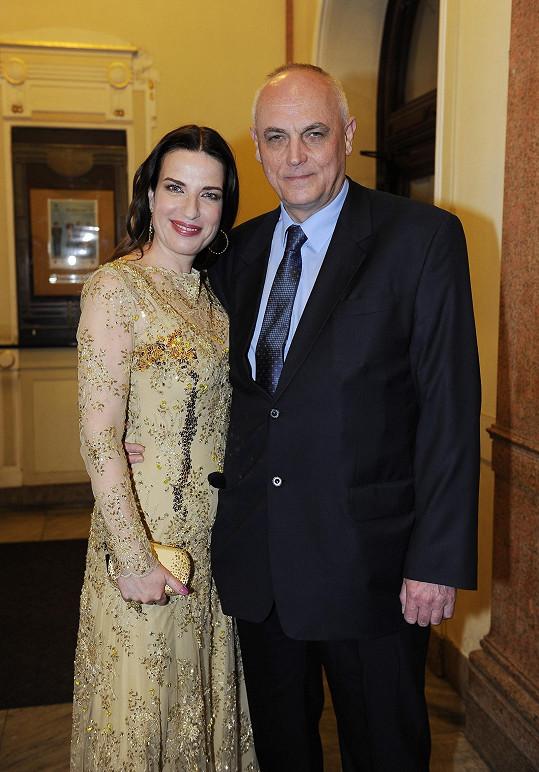 Míša s manželem, miliardářem Michalem Voráčkem