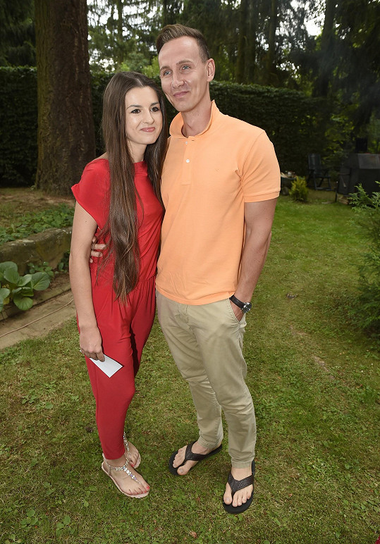 Eliška s nyní již manželem Petrem
