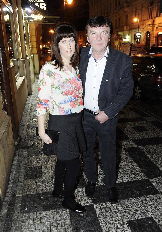 Pavel s přítelkyní Monikou Fialkovou