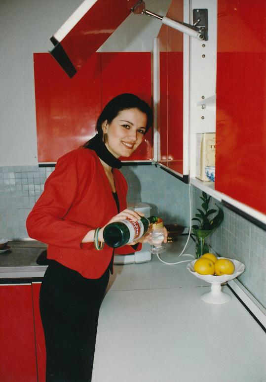 Silvia Lakatošová se v roce 1993 stala Miss Československa.