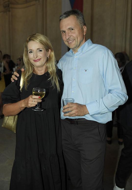 Markéta s manželem Petrem