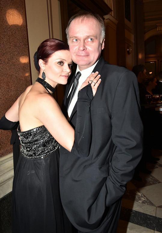Igor s manželkou Antonií Talackovou