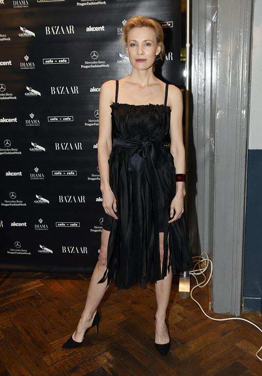 Martina Šmuková loni na fashion weeku předváděla. Letos se na molo nechystá.