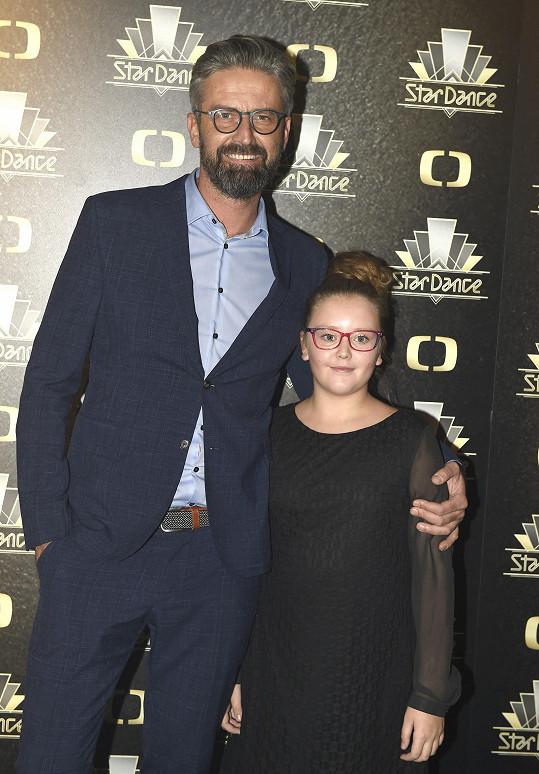 Roman Zach má také dcerku Agátu (12).