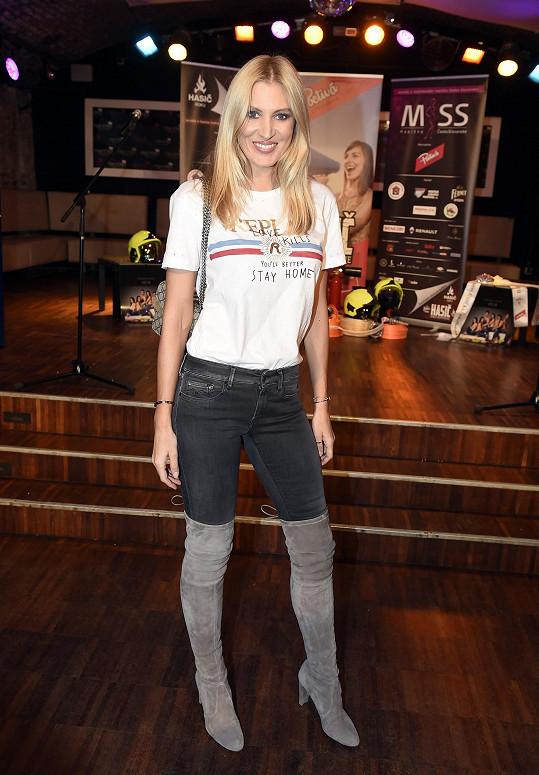 Kateřina Průšová je Miss ČR 2002, stále patří mezi naše nejúspěšnější modelky.