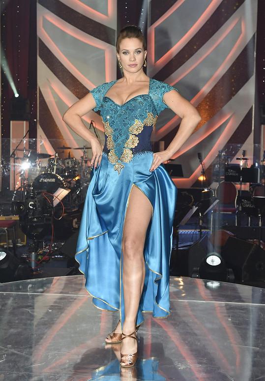 I Kristýna Leichtová byla letos sexy.