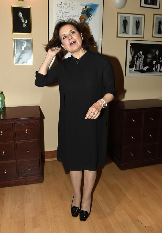 Veronika Freimanová po premiéře