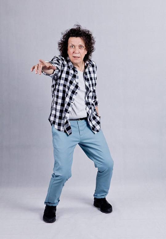 Richard bude v Kvítku mandragory nejen tančit, ale i zpívat.