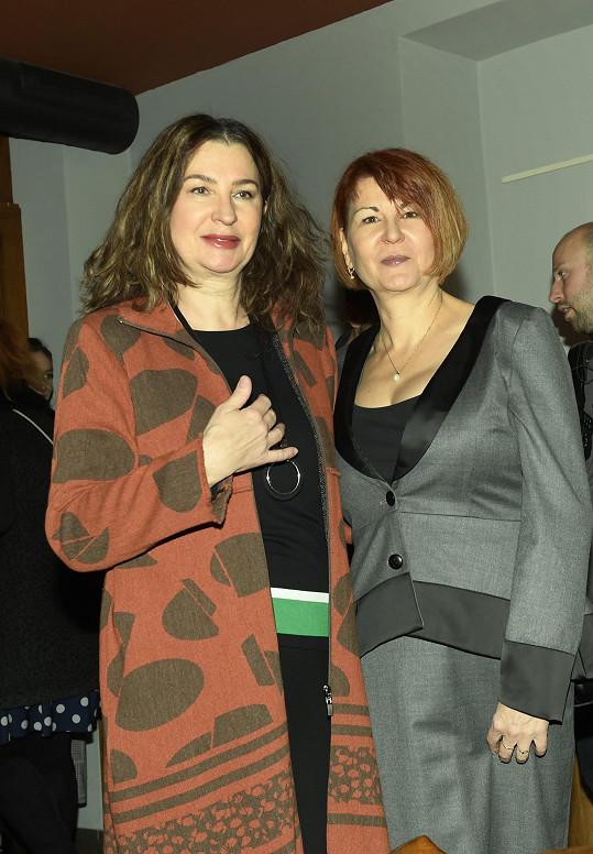 Pozvala i kamarádku režisérku Irenu Pavláskovou.