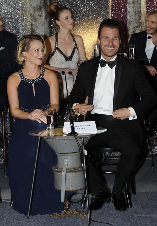 Leoš Mareš a Katarína Štumpfová byli oficiálně představeni jako taneční pár.