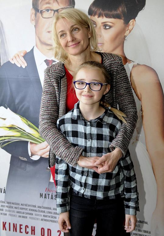 Kordula hrála v minulosti ve filmu Jak se zbavit nevěsty.