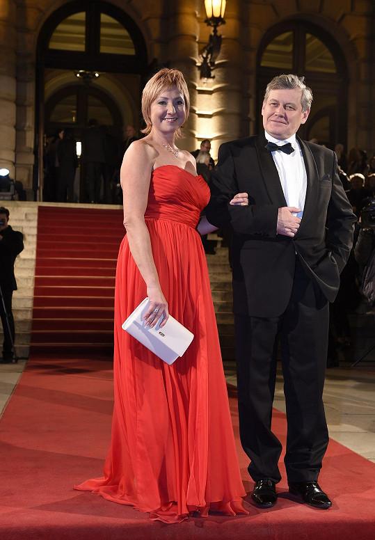 Miroslav Hanuš s manželkou