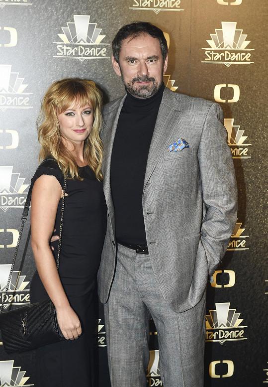 Lucie s expartnerem Emanuelem Ridim