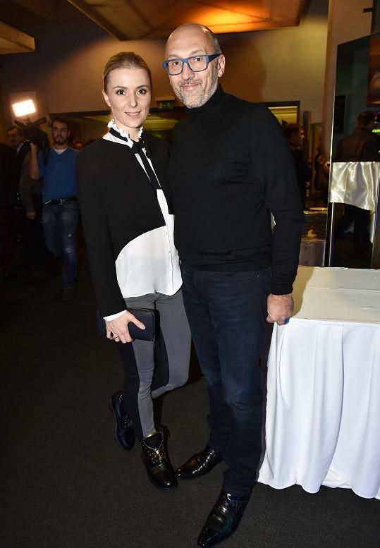 Lešek Wronka a Halina Mlynková