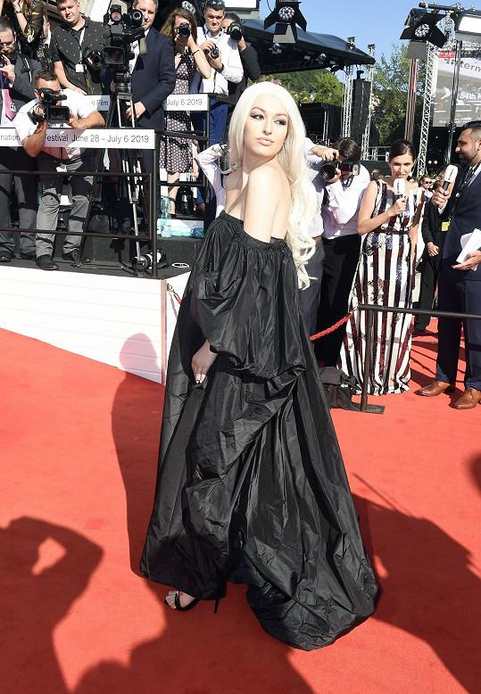 Vanda Janda vypadala jako Lady Gaga.