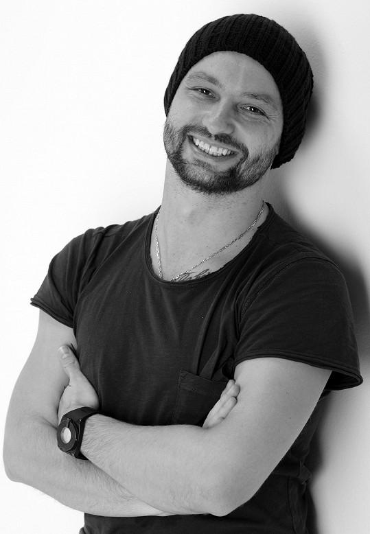Marek Dědík a jeho typický úsměv