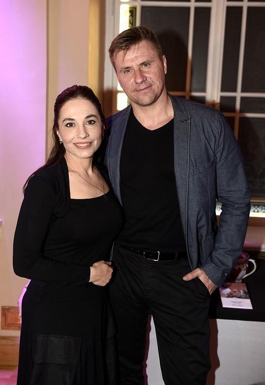 Michaela Kuklová a fotograf Jiří