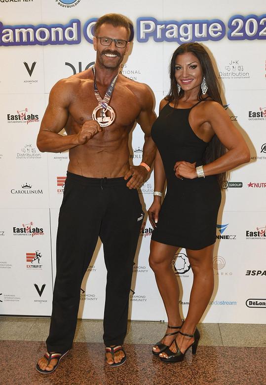 S organizátorem soutěže a reprezentantem v Men's physique Romanem Hajabáčem