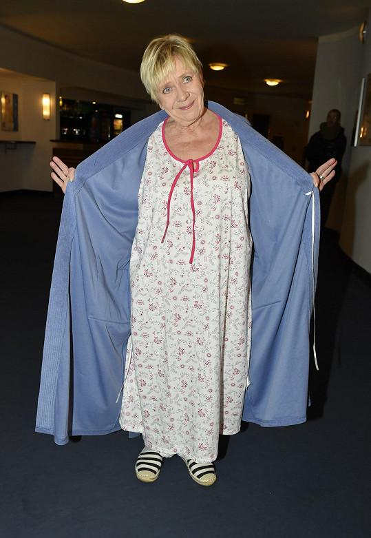 Obermaierová bude mít v představení pouze tento kostým.