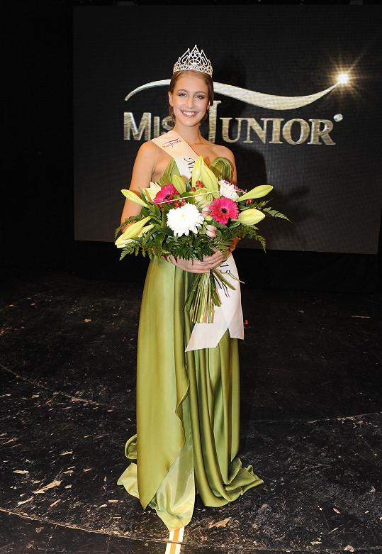 Miss Junior vyhrála favoritka Vaidišové Nikola Uhlířová.