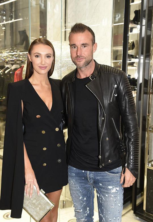 Philipp Plein s modelkou Taťánou Makarenko