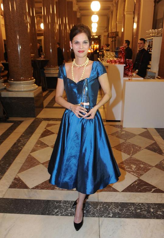 Odnesla si sošku za nejlepší ženský herecký výkon.
