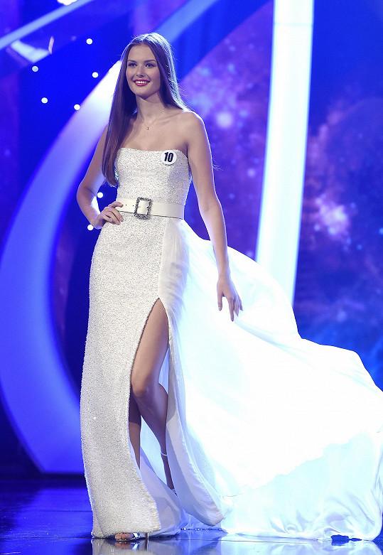 Klára Vavrušková je novou Česko-Slovenskou Miss.