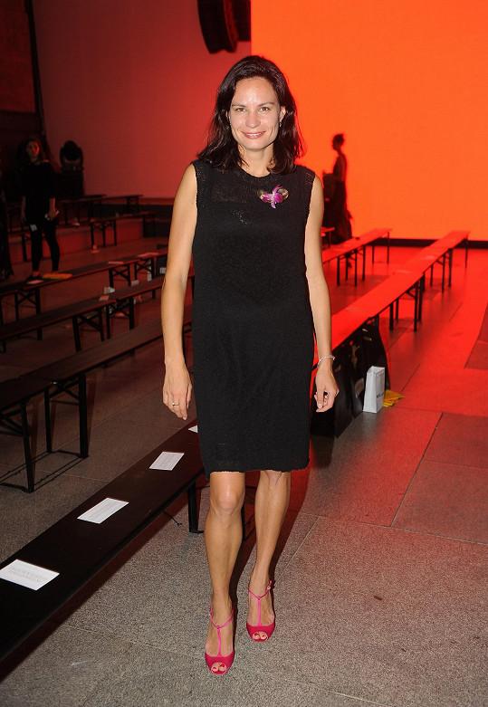 Eliška Kaplicky Fuchsová je opět zamilovaná. Prozradila nám to na Prague Fashion Weekendu.